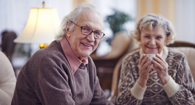 Couple At Aged Care