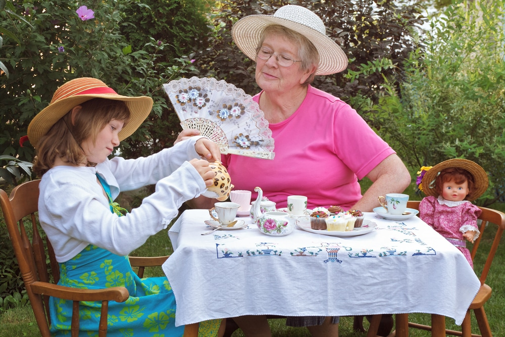 ideas for keeping grandchildren entertained