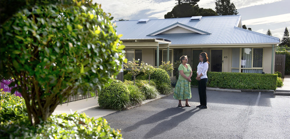 choosing and aged care community